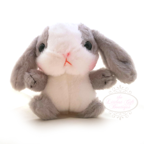 Pote Usa Loppy Keychain Grey