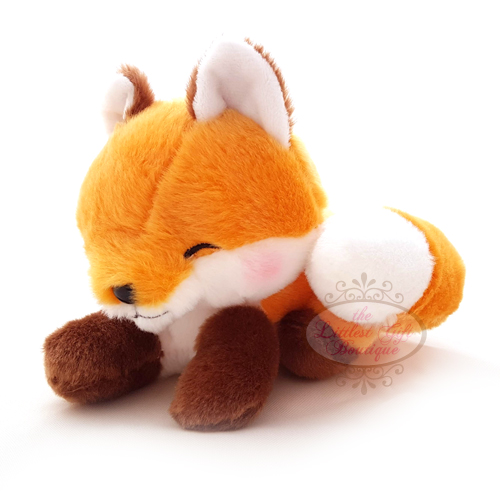 Fox Lying Down M Orange
