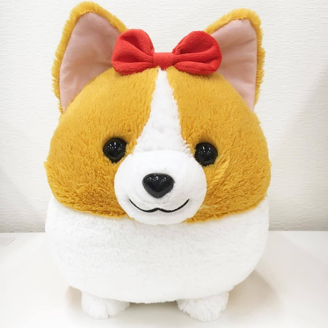Corgi L Red Bow