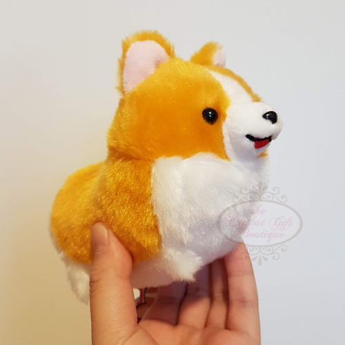 Corgi Keychain Tongue