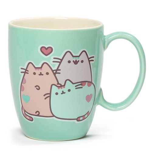 Pusheen Mug 12 oz. Pastel