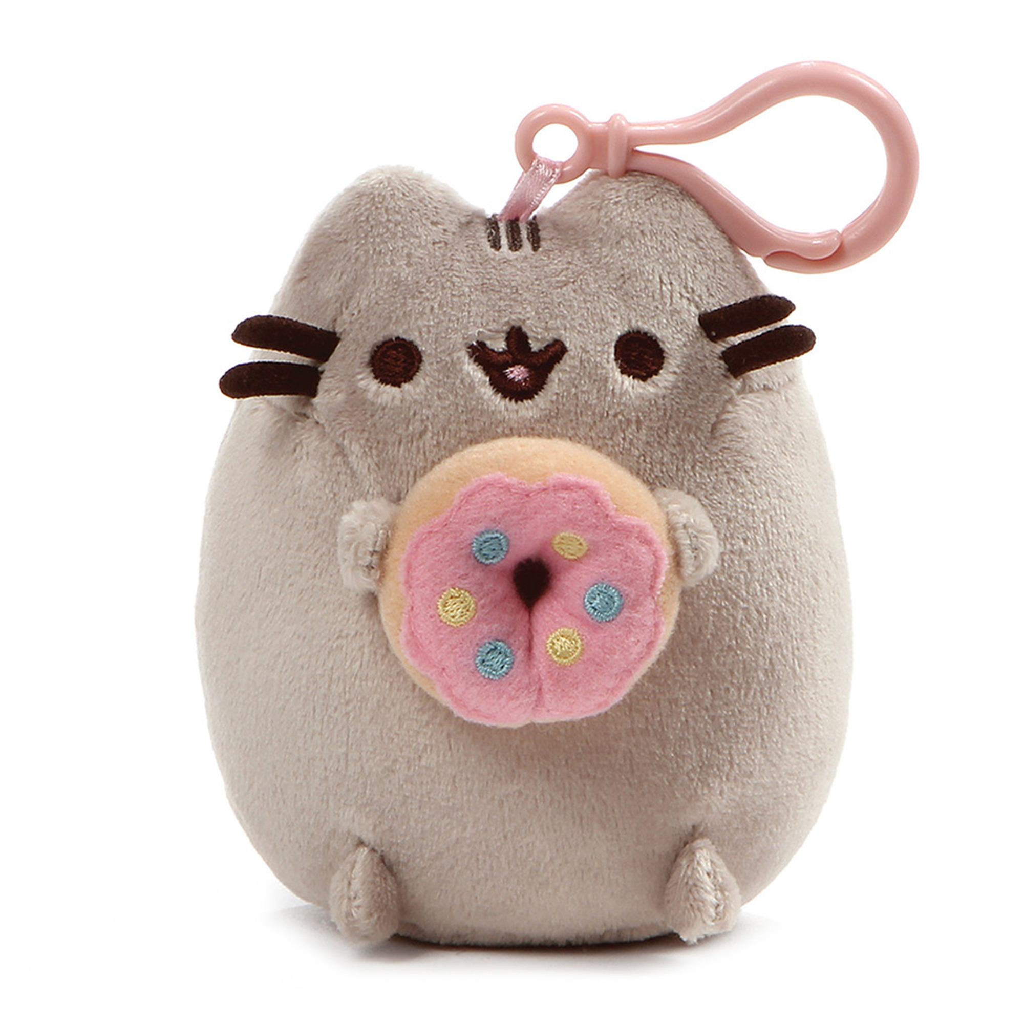 Pusheen Clip-On Plush 1 Donut