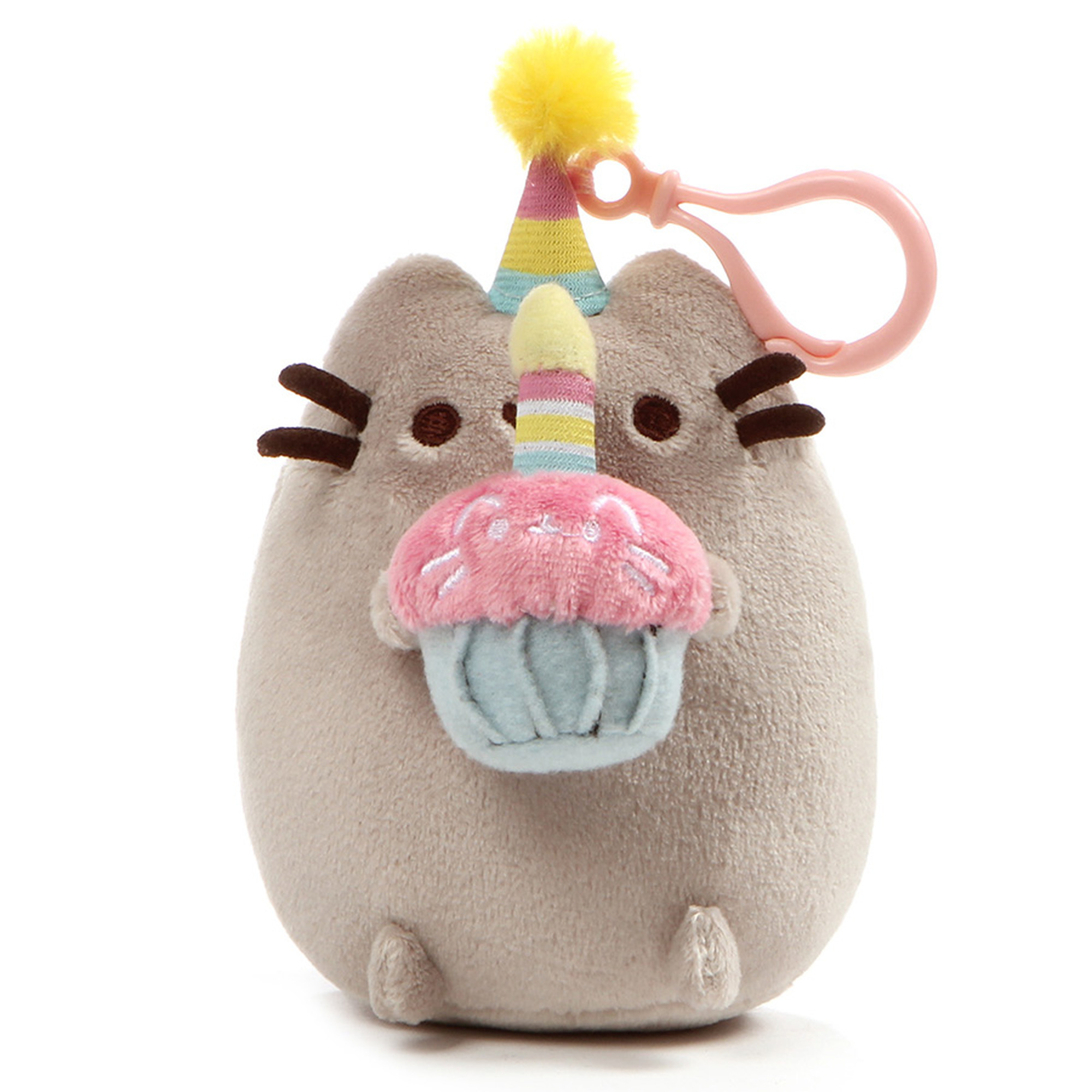 Pusheen Clip-On Plush 1 Birthday