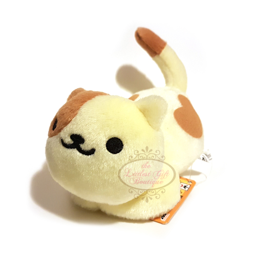 Neko Atsume Plush Keychain 12 Peaches