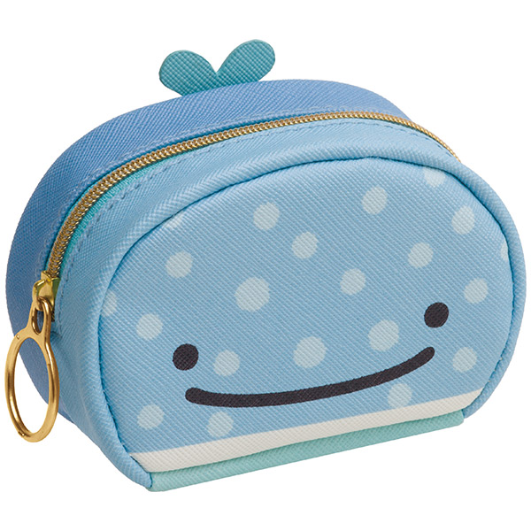 """Jinbei San"" Jinbesan Small Pouch Two Faces"