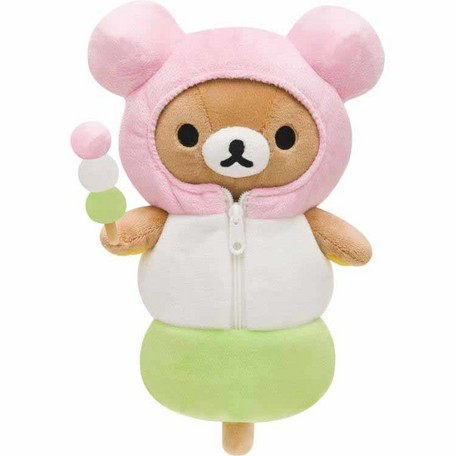 Rilakkuma Tea Shop 3 Color Dango Sleeping Bag