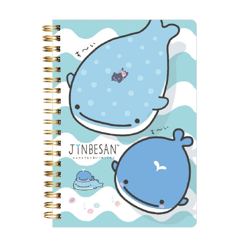 """Jinbei-San"" Mr. Whale Shark Maigono Kokujira Notebook 2"