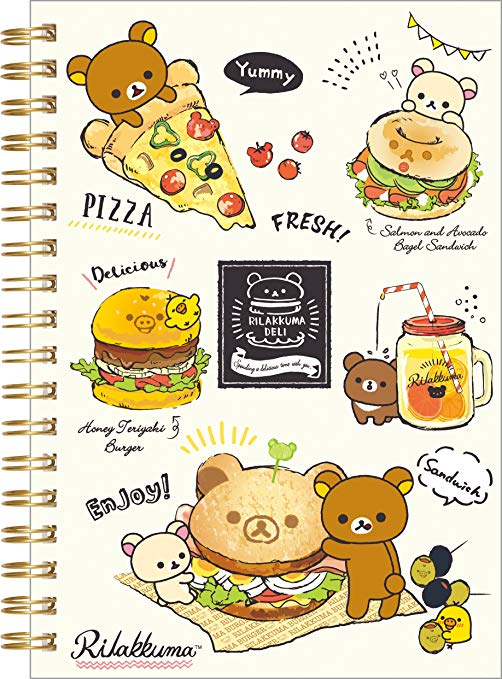 Rilakkuma Fast Food Notebook