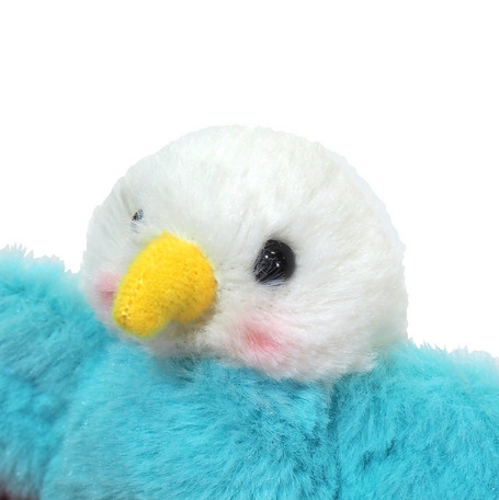 Parakeet Budgie Keychain - Click Image to Close