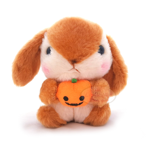 Pote Usa Loppy Halloween Keychain Brown