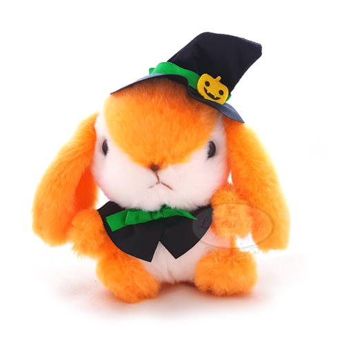 Pote Usa Loppy Halloween Keychain Orange