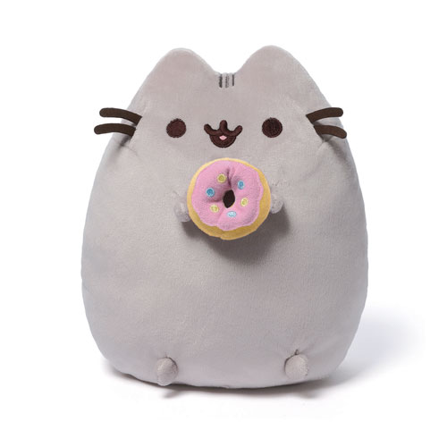 Pusheen with Donut 9.5""