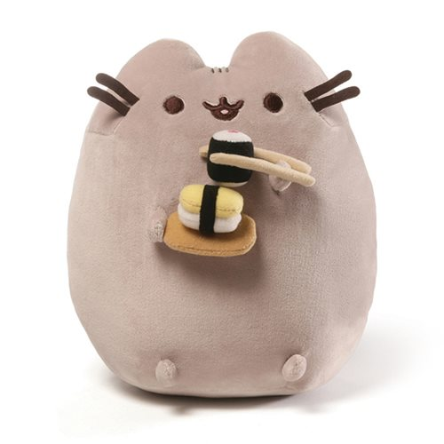 Pusheen with Cupcake Sushi 9.5""