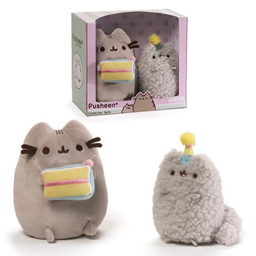 Pusheen Collector Set Birthday Cake