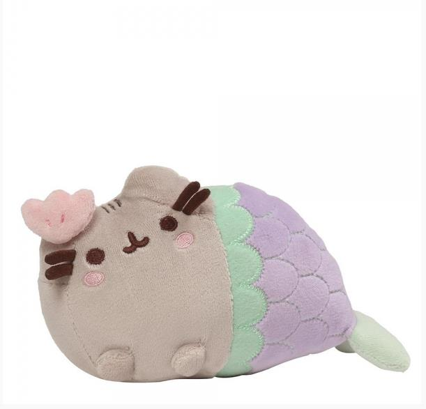 Pusheen Mermaid Clam Shell 7""
