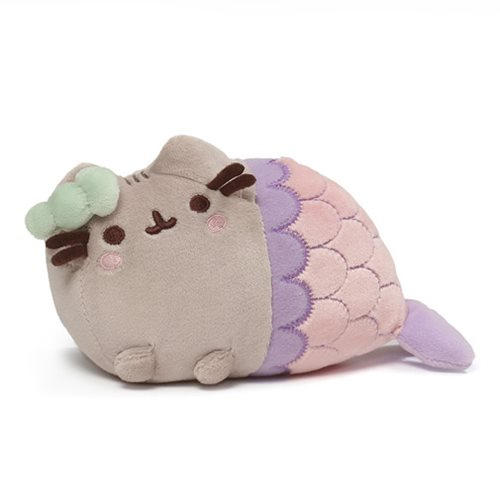 Pusheen Mermaid Spiral Shell 7""