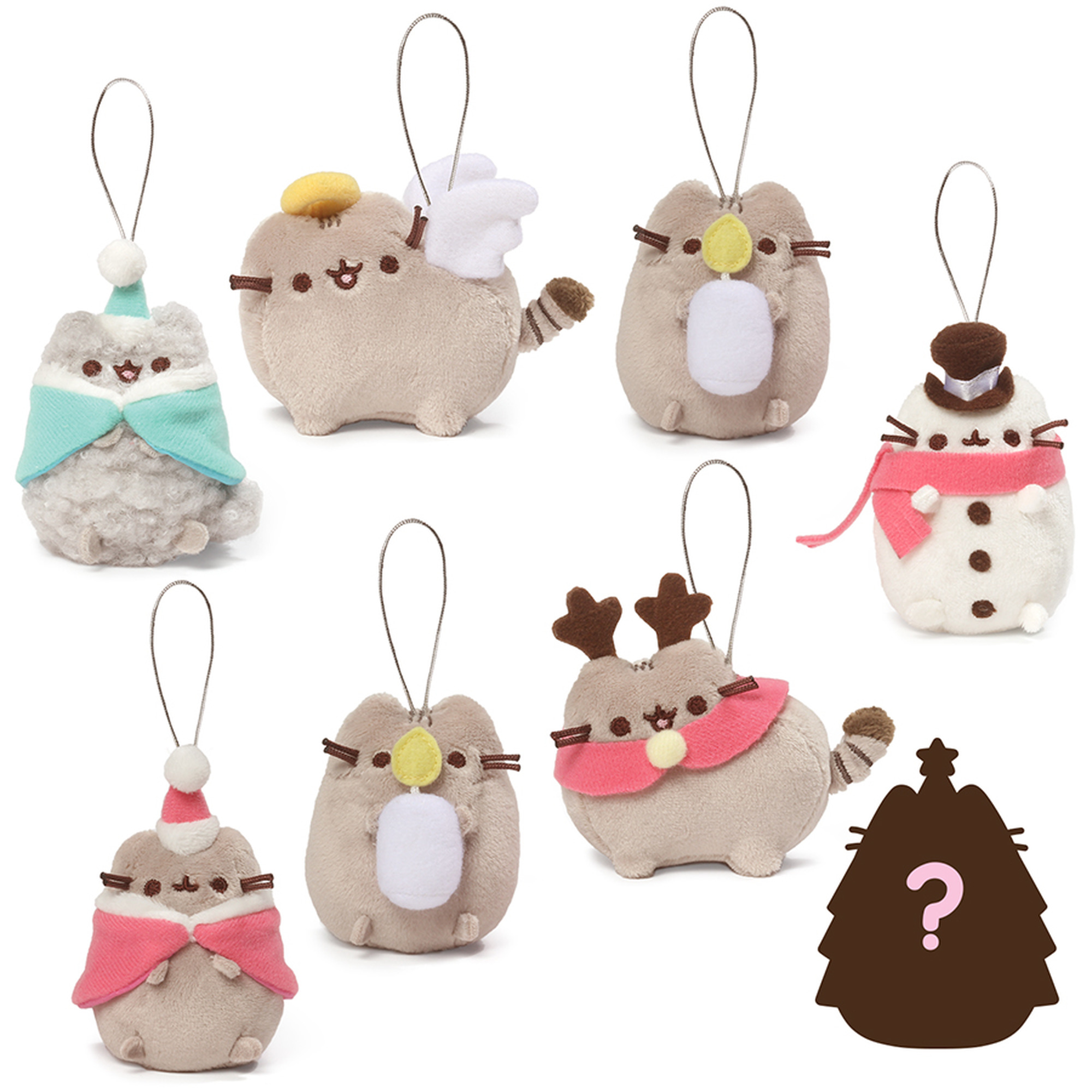 Pusheen Blind Box Plush Holiday Cheer