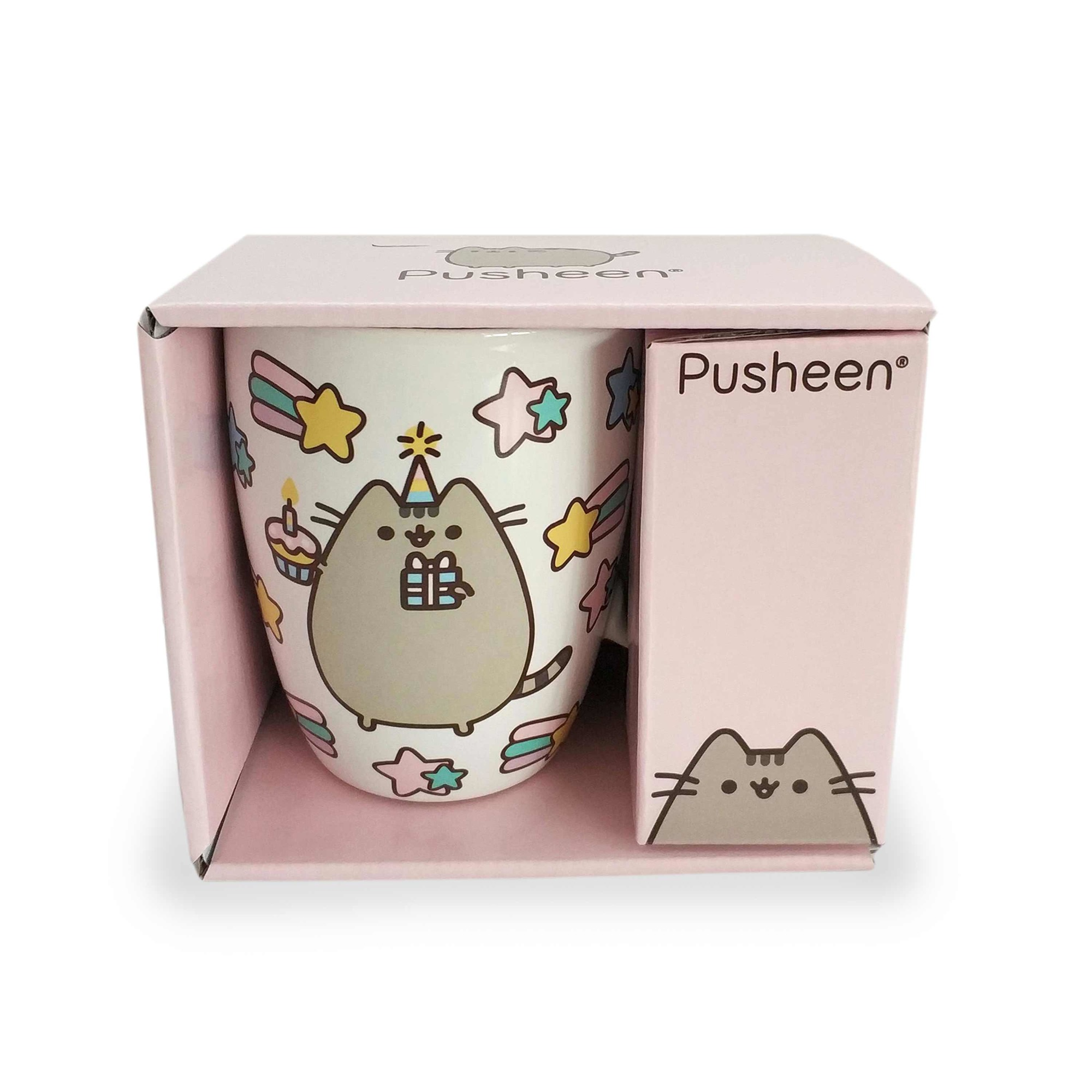 Pusheen Mug 12 oz. Celebrate