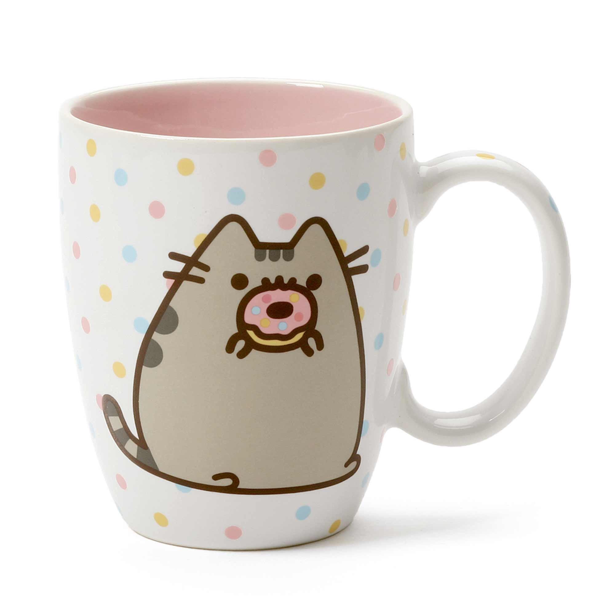 Pusheen Mug 12 oz. Donut