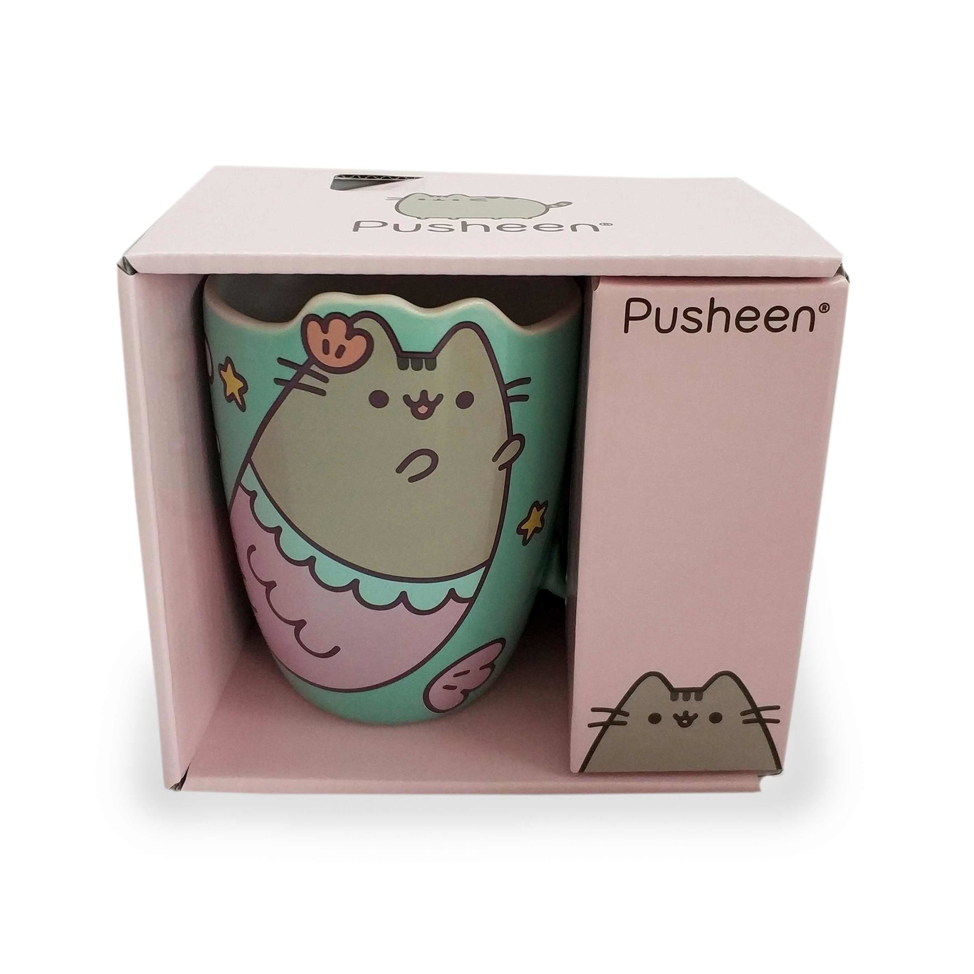 Pusheen Mug 12 oz. Mermaid