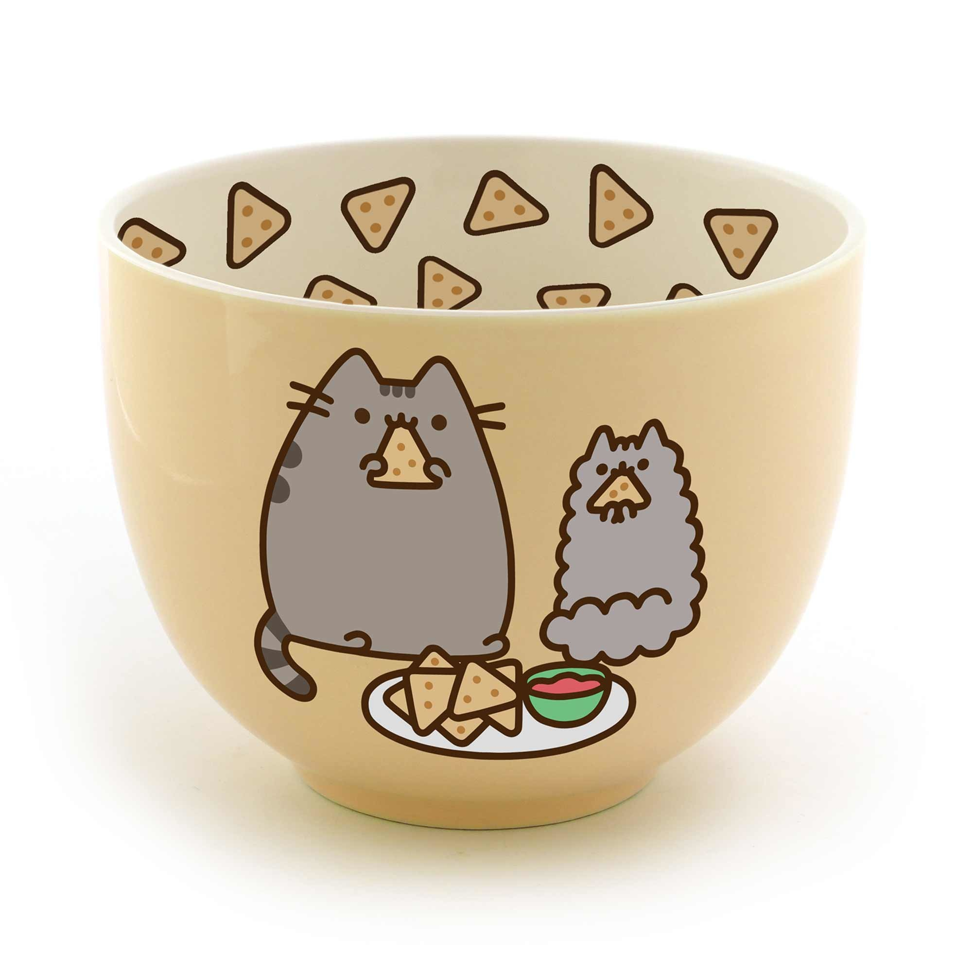 Pusheen Bowl Snacks and Chips