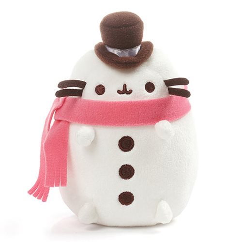 Pusheen Christmas Plush Snowman 6.5""