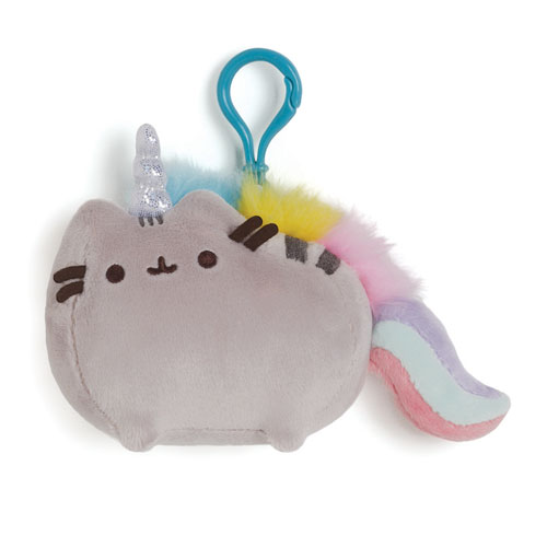 Pusheen Clip-On Plush Pusheenicorn