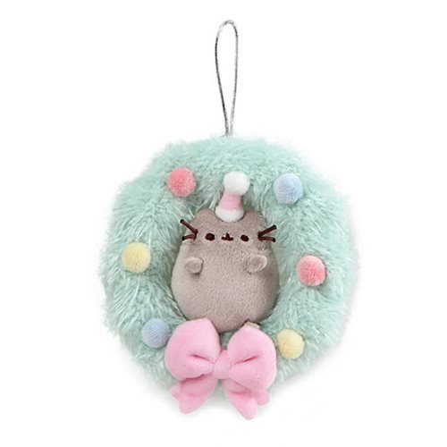 Pusheen Christmas Plush Wreath 4.5""