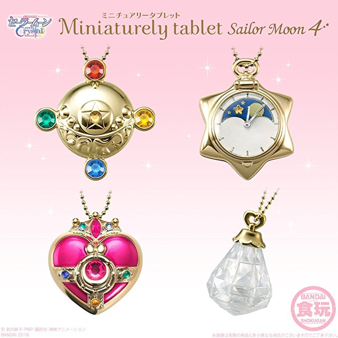 Sailor Moon Miniaturely Tablet Series 4