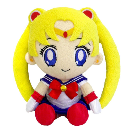 Sailor Moon Plush Moon 8""