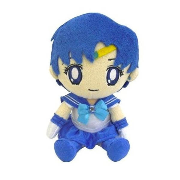 Sailor Moon Plush Mercury 8""