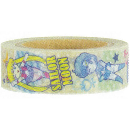 Sailor Moon Masking Tape Yellow Scouts - Click Image to Close