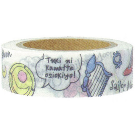 Sailor Moon Masking Tape Comic Accessories