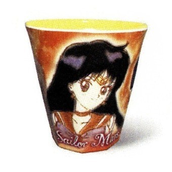 Sailor Moon Melamine Cup Sailor Mars 4""
