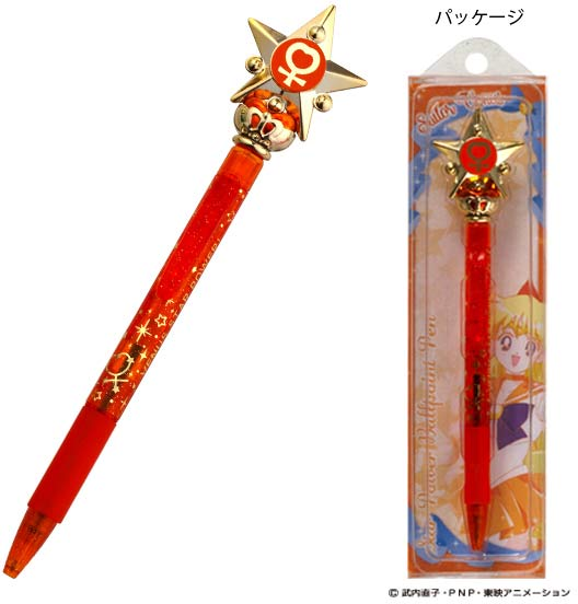 Sailor Moon Pen Wand Ball Point Ink Venus