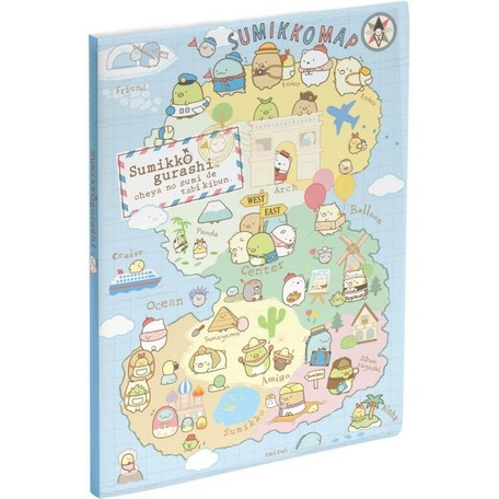 Sumikko Gurashi Travel Clear File Folder