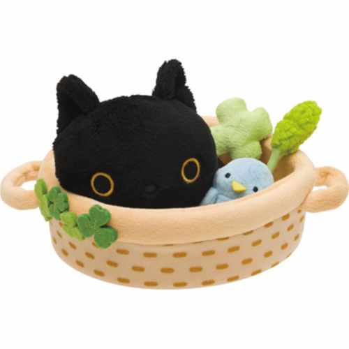 Socks Nyanko Plush Basket