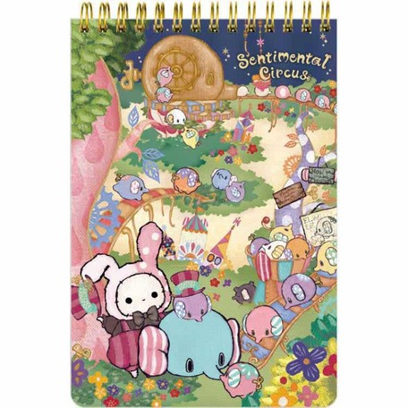Sentimental Circus Mouton Hometown Series Spiral Notebook