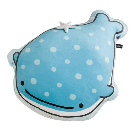 """Jinbei San"" Mr. Whale Shark Pillow"