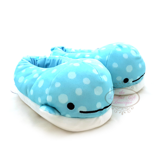 """Jinbei San"" Jinbesan Mr. Whale Shark Slippers Open Eyes"