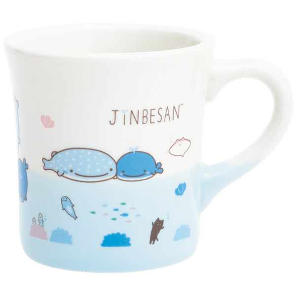 """Jinbei-San""Jinbesan Mr. Whale Shark Mug with Maigo - Click Image to Close"