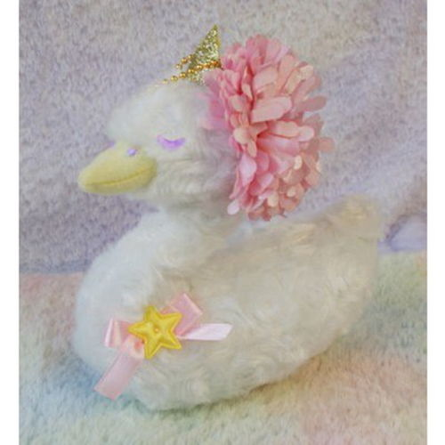 [Kiki & Lala] Little Twin Stars Swan Floral Series Mascot with B