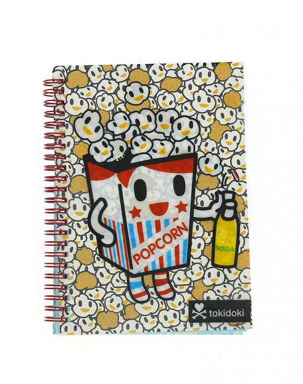 Tokidoki Notebook Popcorn