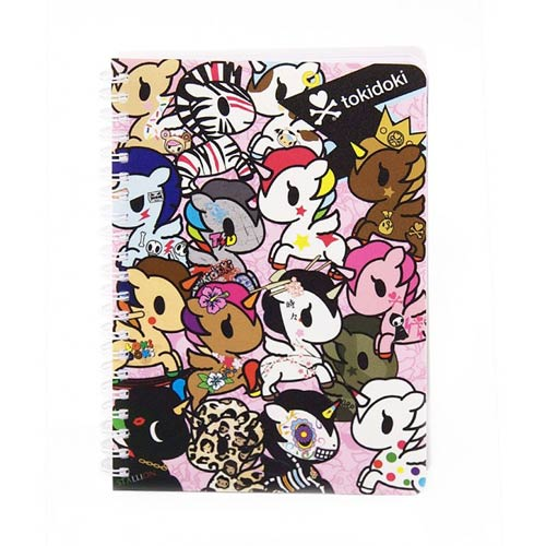 Tokidoki Notebook Wire O