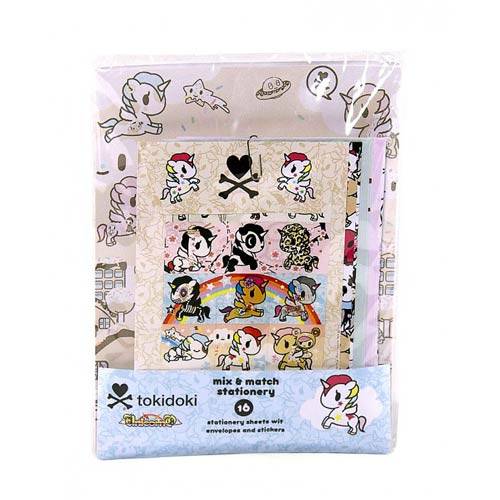 Tokidoki Note Stationery Kit Unicorno